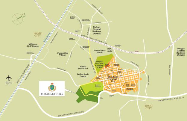 How To Get To McKinley Hill and Venice Grand Canal Mall