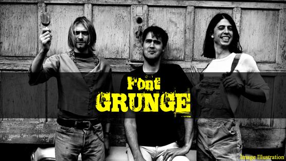 Font Grunge Terkeren Untuk Desain Photoshop [Gratis]