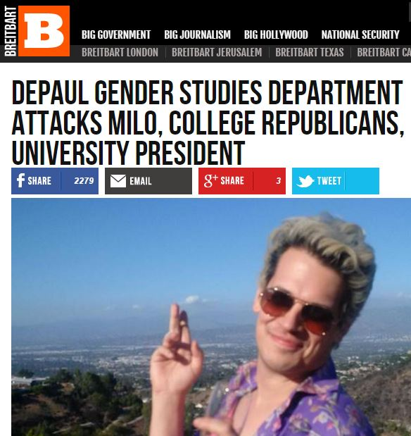 Stereotypes Are Accurate (and Feminists at DePaul Are Man