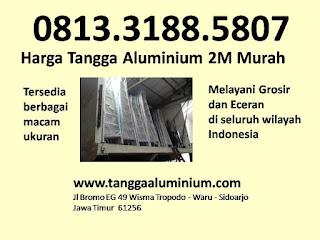Harga tangga aluminium 2m murah
