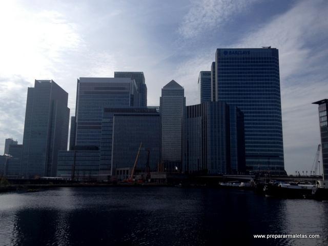 Rascacielos de Canary Wharf London
