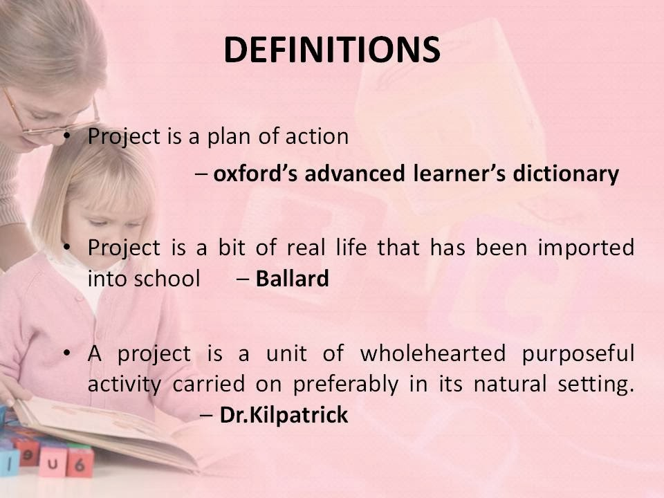 Project method of teaching ppt