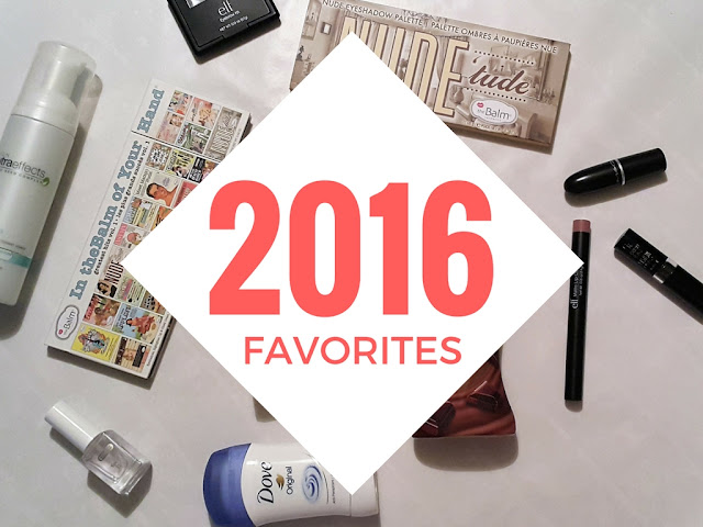 2016 favorite beauty products