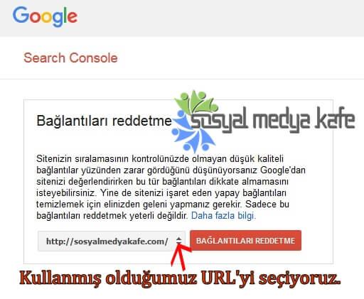 Google Link Reddetme Aracı Nasıl Kullanılır