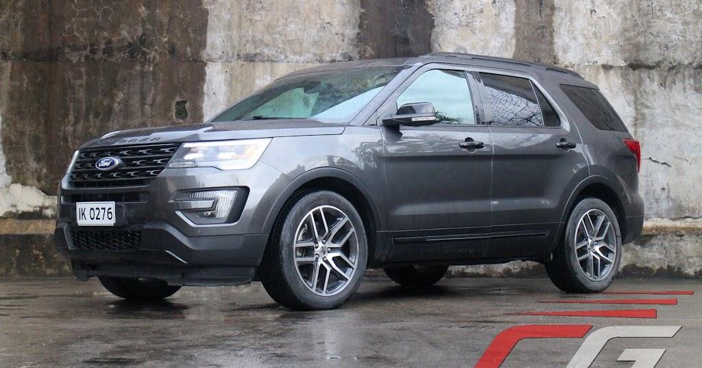 review 2016 ford explorer sport v6 ecoboost philippine car news car reviews prices. Black Bedroom Furniture Sets. Home Design Ideas