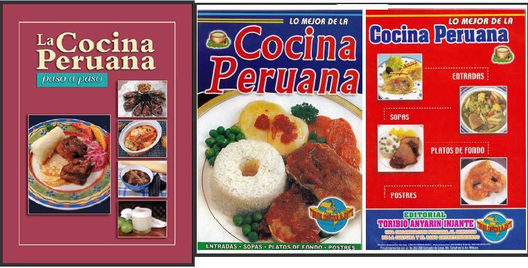 colecci n de libros de cocina peruana varias recetas