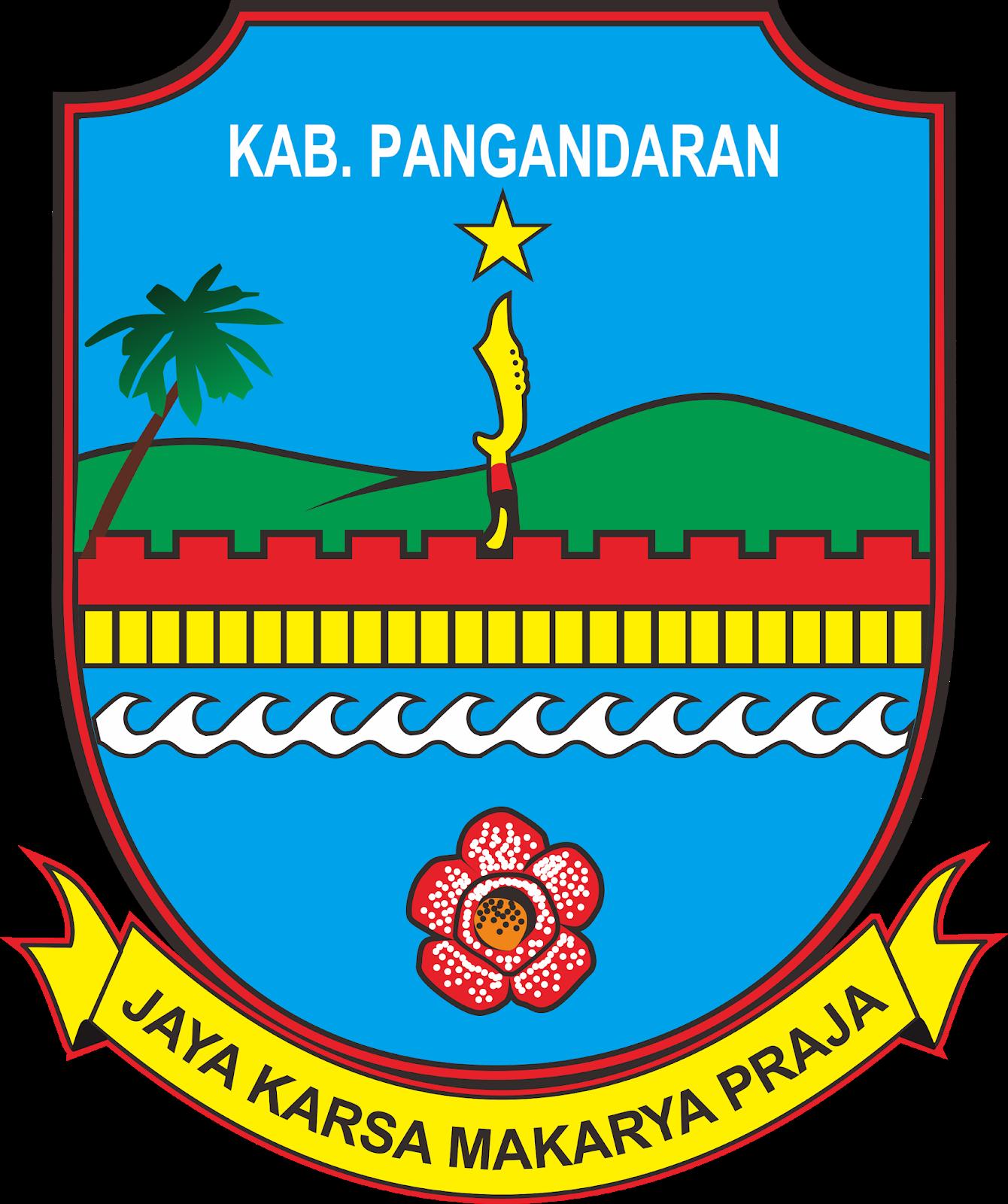 Download Logo Kabupaten Pangandaran Format Cdr Media Vector