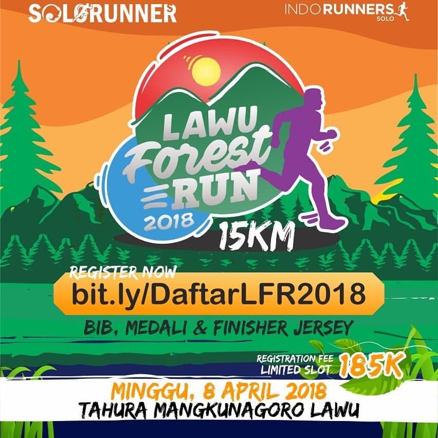 Lawu Forest Run • 2018