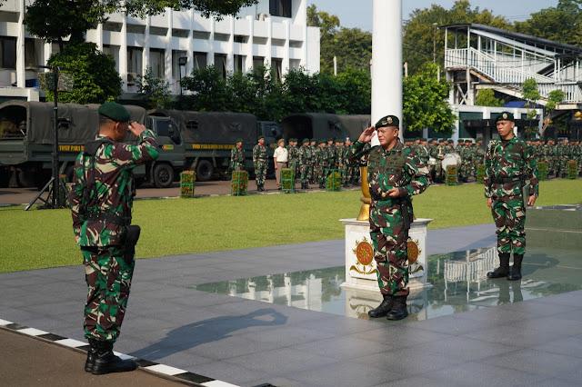 Pangkostrad Pimpin Upacara Peringatan Hari Kebangkitan Nasional Ke-111