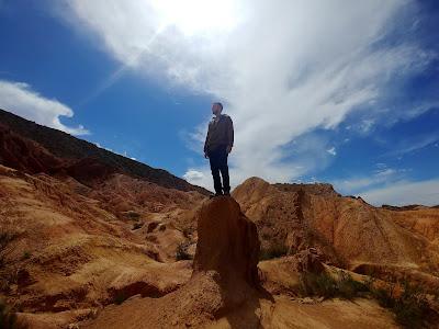 Atrakcje Kirgistanu - Skazka Canyon