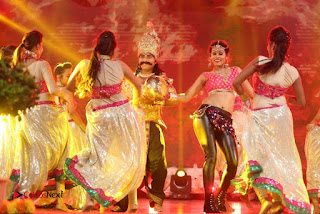 Nisha Dance Performance Stills at Janatha Garage Movie Audio Songs Release Function ~ Bollywood and South Indian Cinema Actress Exclusive Picture Galleries