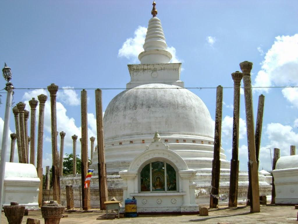 210 BC In Anuradhapura Sri Lanka Pic Shows The 1862 Reconstruction