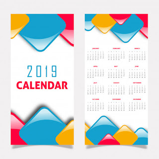 7 Kriteria Desain kalender yang Menarik