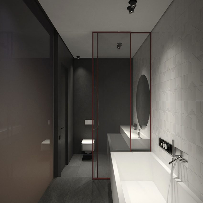 Thiết kế nội thất chung cư 60m2 cho vợ chồng trẻ- 11