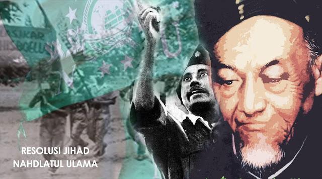 rapat akbar resolusi jihad nu