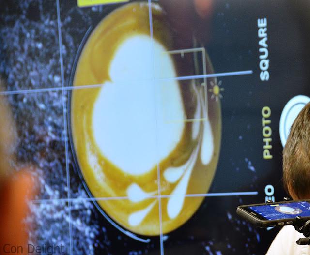 ציור בקפה Coffee art