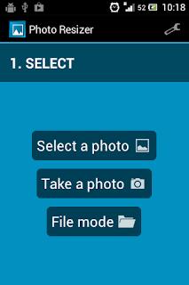 Mengubah Ukuran Foto dengan android