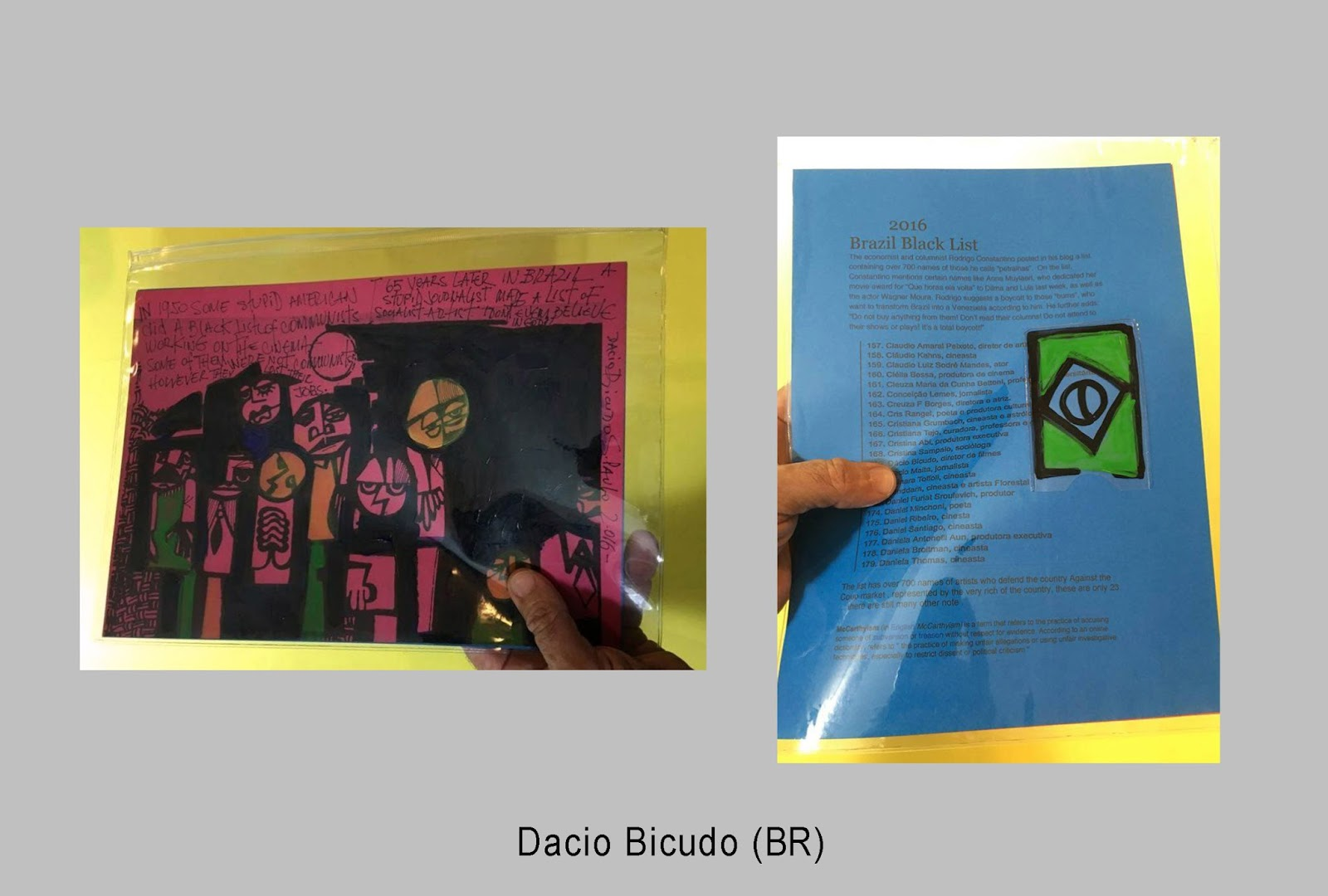DIN A4 Artists /Artworks |
