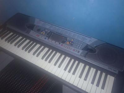 cara sambung keyboard