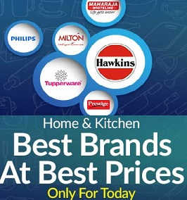 Home & Kitchen Products – Best Brands at Best Price@ Snapdeal (For Today Only)
