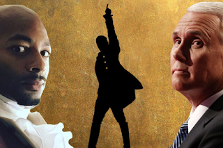 """Actor Brandon Victor Dixon of """"Hamilton"""" Arrogantly Lectures Mike Pence: 'I Hope He Remembers Us'"""