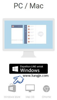 Cara Install LINE for PC Di Windows Tanpa Emulator
