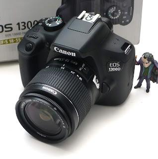 Kamera DSLR Canon EOS 1300D Fullset