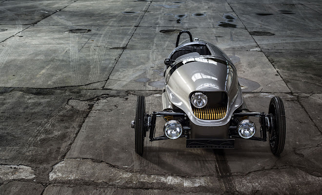 Morgan EV3 front view