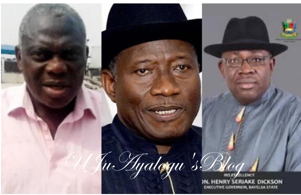 Gang up: APC chieftain backs Governor Dickson over comment against Jonathan's 6 years failure