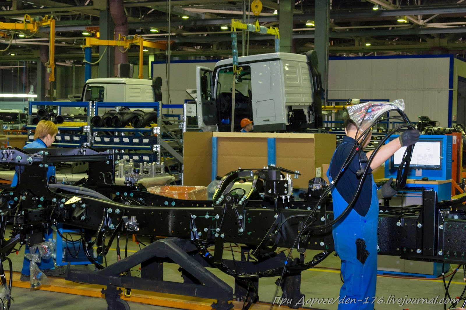How to make MBTV 45 Mercedes Benz trucks in Naberezhnye Chelny
