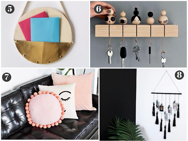 Faça você mesmo 8 Itens de decoração fáceis de fazer