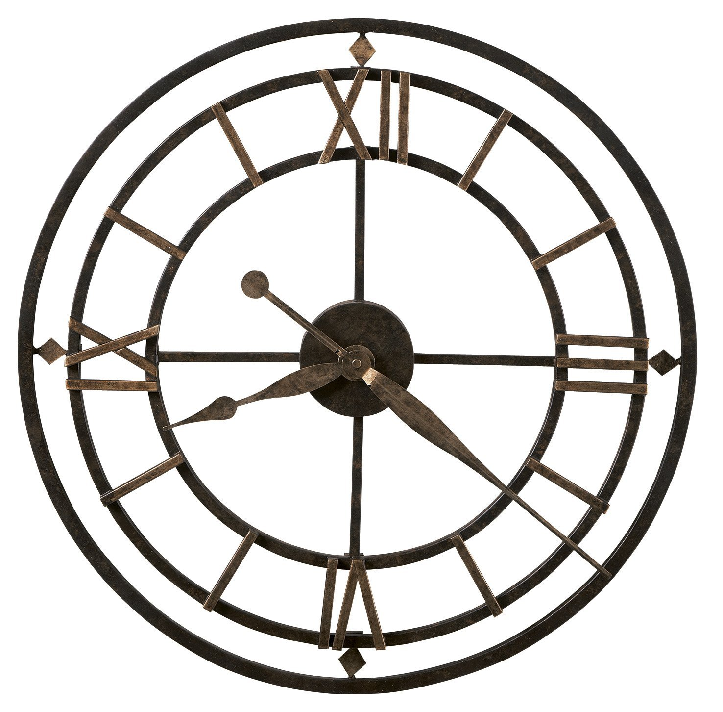 Oversized & Giant Metal Wall Clocks