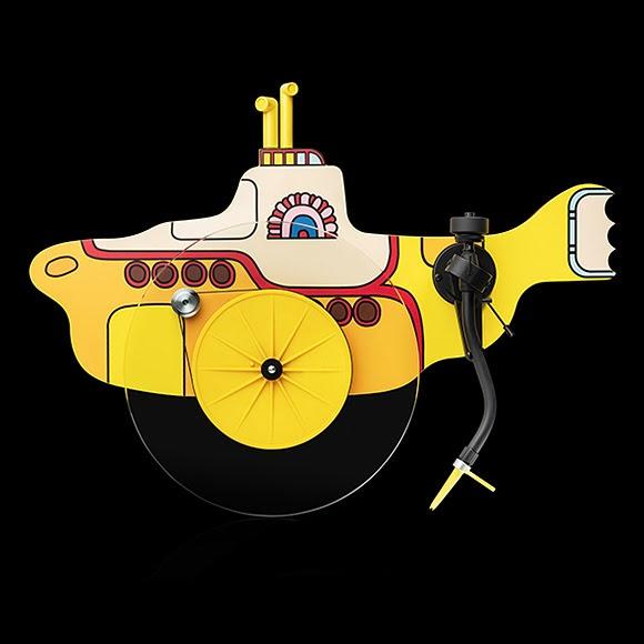 Pro-Ject sort la platine vinyle «The Beatles Yellow Submarine»
