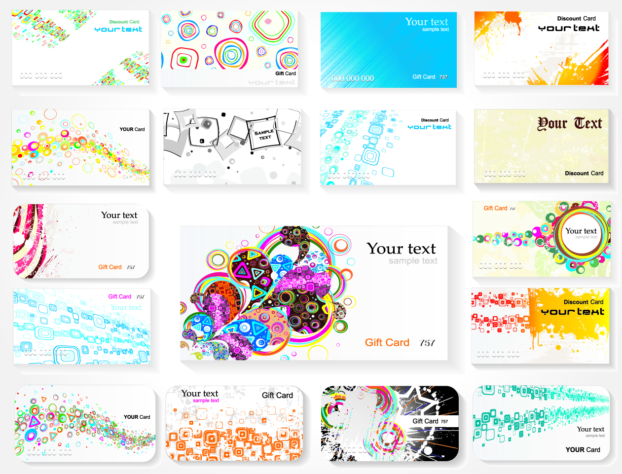 Vector Business Card Templates Free Download