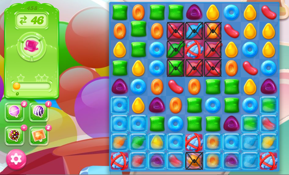 Candy Crush Jelly Saga 458