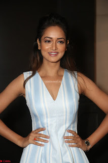 Shanvi Looks super cute in Small Mini Dress at IIFA Utsavam Awards press meet 27th March 2017 39.JPG