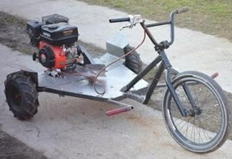 Homemade 200cc BMX Extreme TRIKE