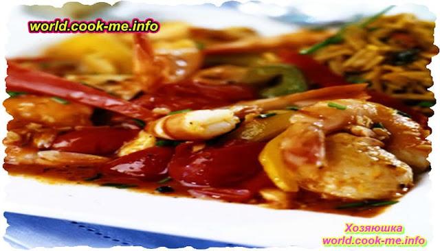 Рыба в остром томатном соусе - рецепт для духовки
