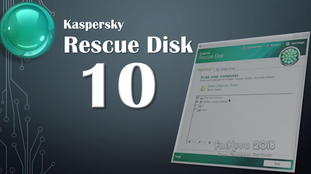 Kaspersky Rescue Disk for Windows 2018 Free Download