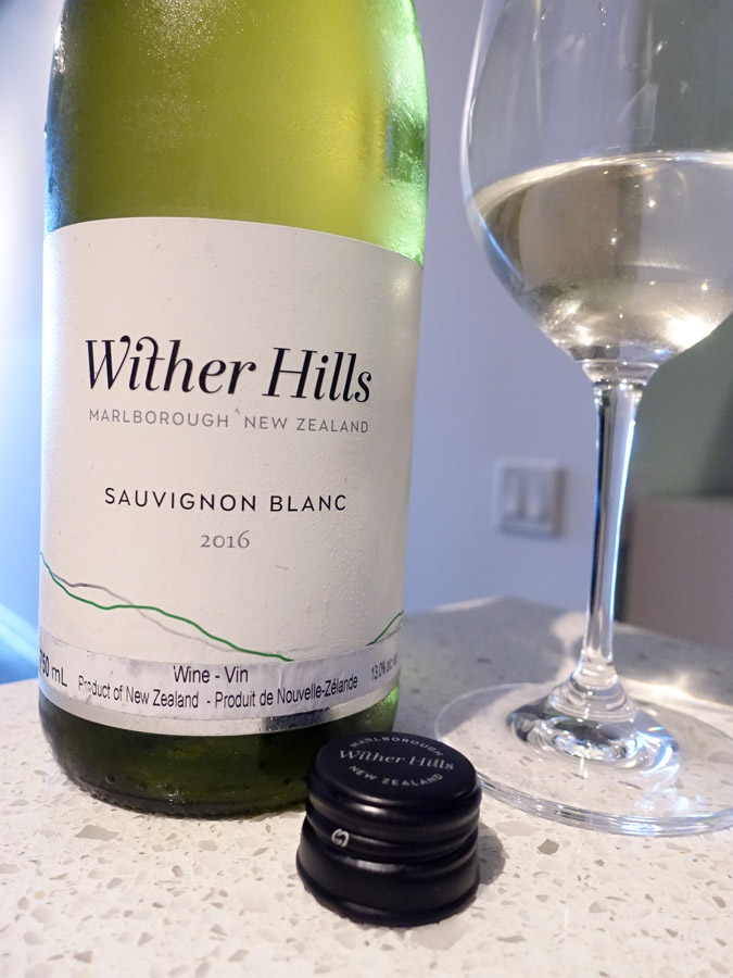 Wither Hills Sauvignon Blanc 2016 (89 pts)