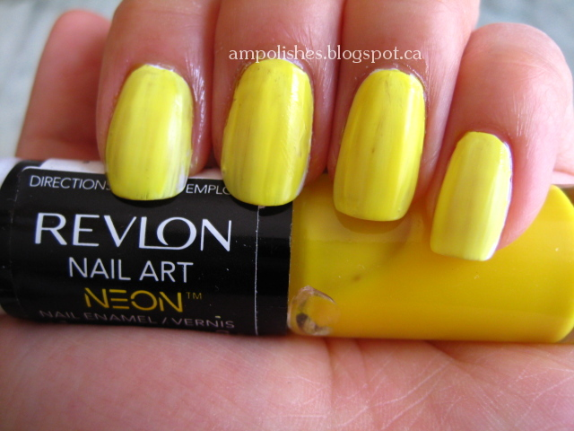 A.M. Polishes: Revlon Nail Art Neon and Expressionist Review