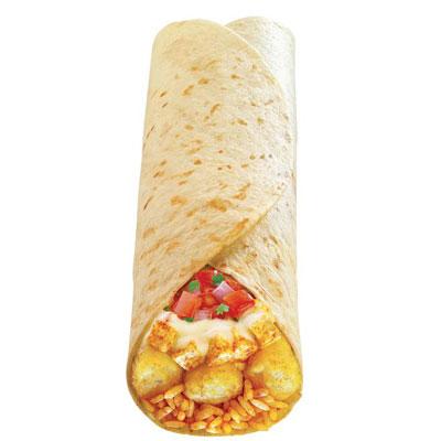بوريتو البطاطس وجبنة البين - الهند