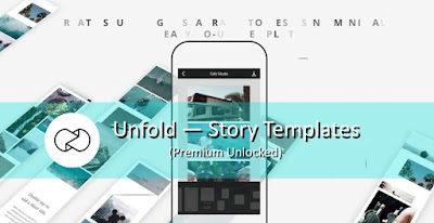 Unfold – Story Templates (MOD, Premium/Full) APK For Android