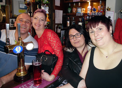Picture three:  Christmas music night and party at the Britannia Inn, Brigg - December 22, 2018 - see Nigel Fisher's Brigg Blog