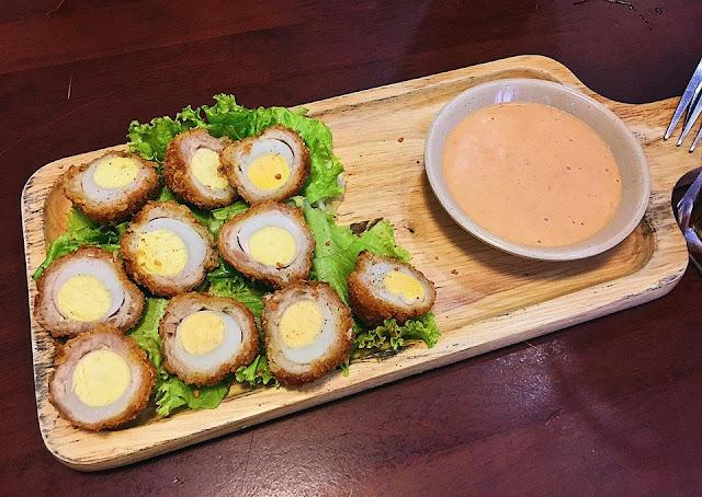 Trứng cút Scotland