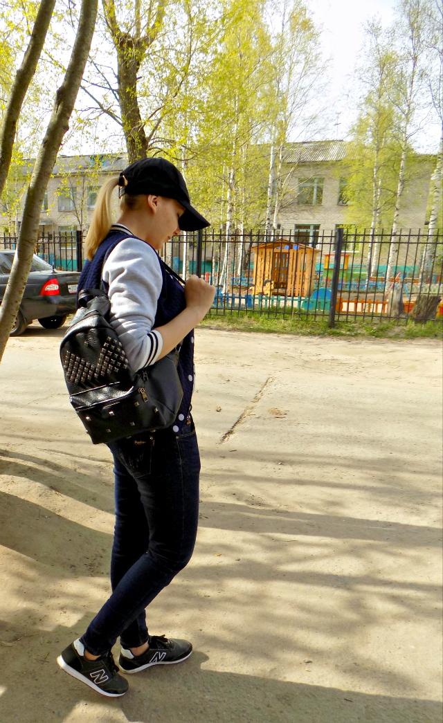 Oksannan, Оксана Смирнова, Oksana Smirnova, street style, прогулка, спортивный стиль, sport style
