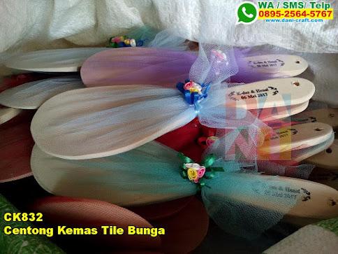 Toko Centong Kemas Tile Bunga