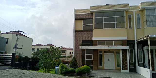 Jual Rumah Tipe Olive 8 x 17 Di Green Park Jl. STM Kampung Baru Medan - 081283838397
