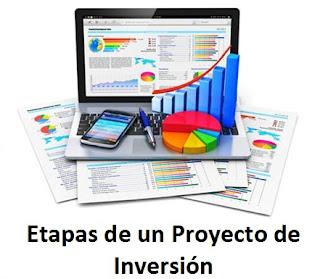 Etapas de los proyectos de inversión