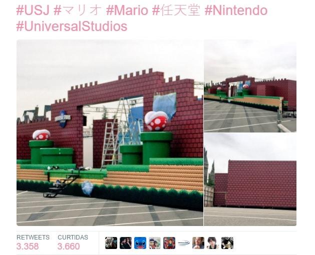 Nintendo traz 'Super Nintendo World' para Universal Studios